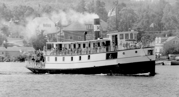The Katahdin Steamship carries passengers Sept. 17, 1991