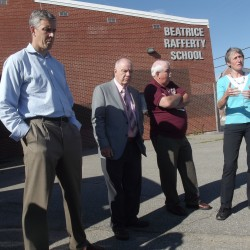 Pingree brings House colleague from Minnesota on tour of dilapidated Passamaquoddy school