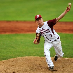 Bangor's Courtney shuts down Morrill Post in American Legion baseball state tourney