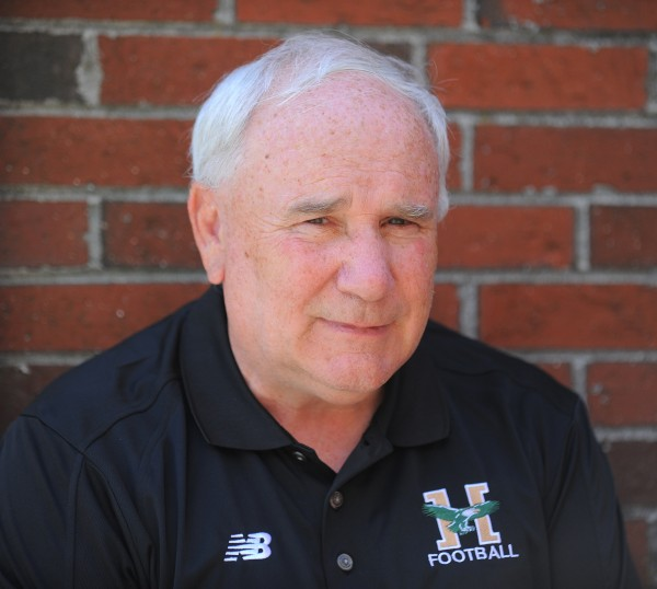 Husson University head football coach Gabby Price