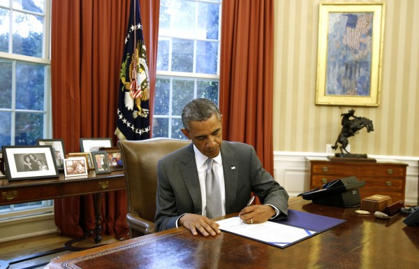 President Barack Obama is expected to sign a bill Thursday to make changes to the Veterans Administration's medical program.