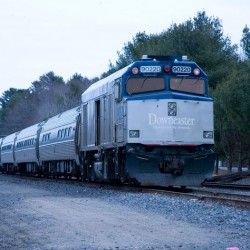 Train barn opponents, Downeaster official clash at Thursday meeting