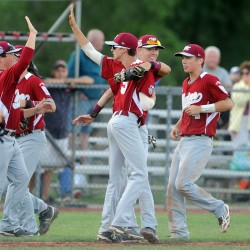 Bangor pitcher brought offensive spark to Senior League World Series