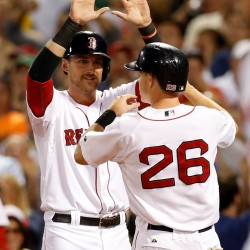 Lackey sharp, helps Red Sox win fifth straight, sweep Astros