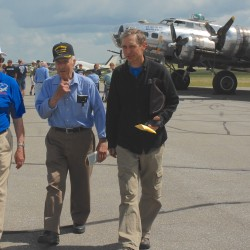 WWII Flying Fortress visits Bar Harbor airport, offers flights in historic bomber