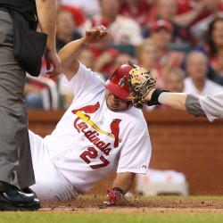 Cards' Wainwright filling ceremonial role for now
