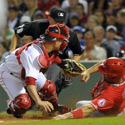 Pujols' homer in 19th lifts Angels by Red Sox