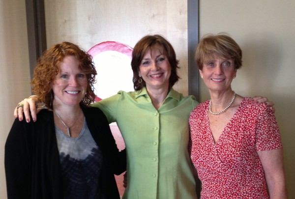 Left to Right: Jamie Morin, Jean Maginnis, Katherine Greenleaf