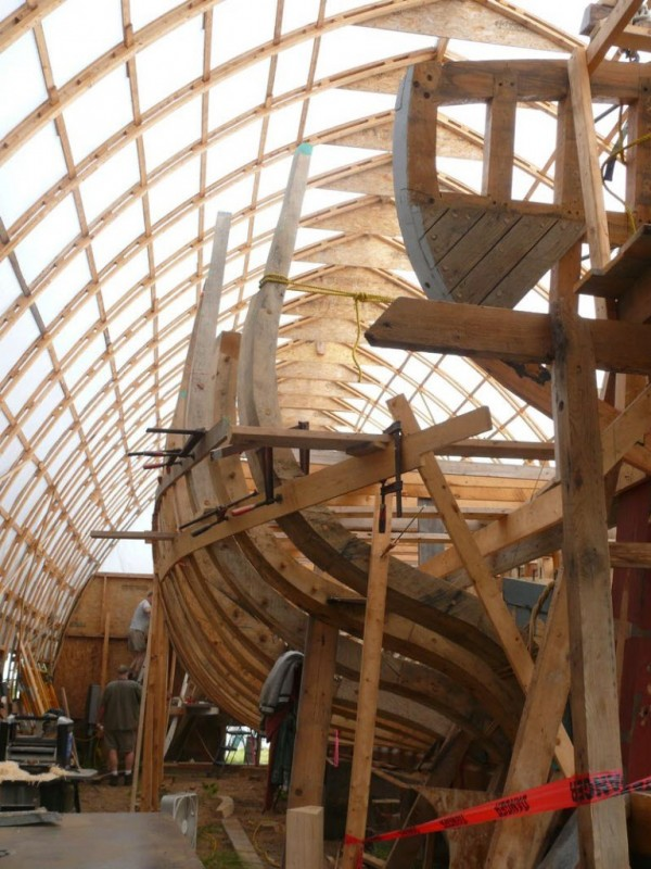 Reconstruction by Maine's First Ship of the Virginia, a pinnace built more than 400 years ago at the short-lived Popham Colony, is taking longer than had been hoped. It is now expected to be complete in 2016 or 2017.