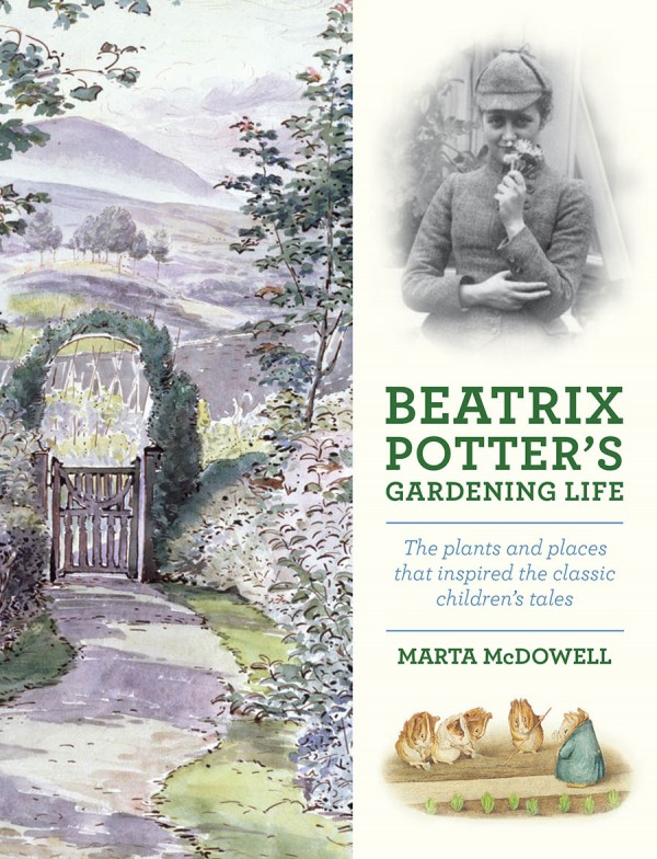 Cover of new book about Beatrix Potter.