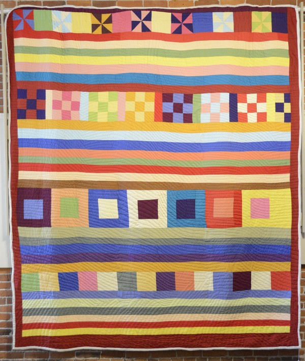 Crazy Quilt, quilt by Lucy Mingo