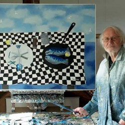 """Book Launch and Signing """"William Irvine: A Painter's Journey"""" at Courthouse Gallery"""