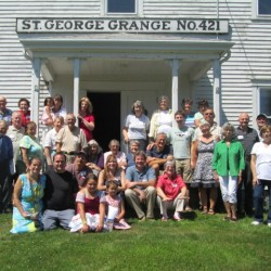 Kalloch family reunion in 2013