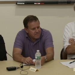 Panelists Fela Barrueto, Sean Yardley, Dr. Geoffrey Gratwick