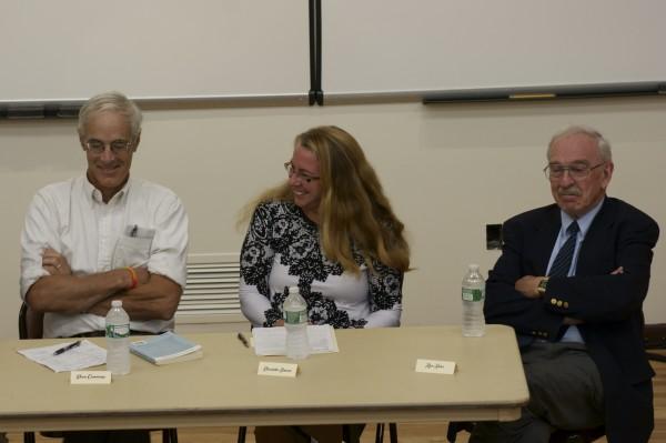 Dr Geoffrey Gratwick, Elizabeth Simoni, Dr. Ron Sider.