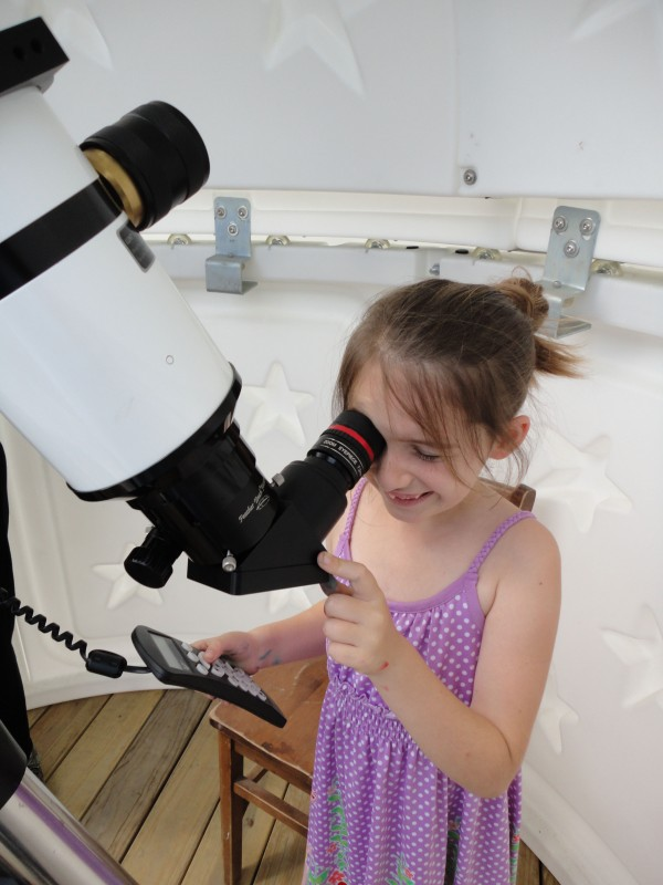 Observing the Sun at the L.C.Bates Museum Observatory is Fun