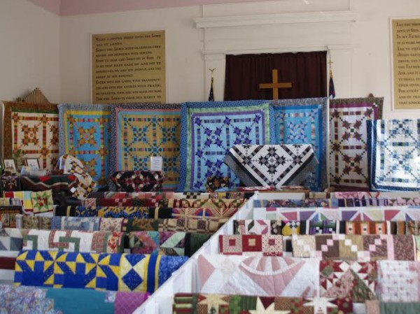 The Winterport Clippers guild will host its third quilt show 9 a.m.-4 p.m. Saturday, Aug. 16, at the Frankfort Congregational Church, Route 1A. The show will feature more than 100 quilts, such as these from the 2011 show, made by guild member. The show also will offer raffles, including large baskets of fabric, notions, and books; and wall hangings and a large, bed-sized quilt. There will be many items available for purchase, including fabric yardage, notions, books, magazines, jelly rolls and coordinated fat quarter bundles. Members also will have finished quilted items available for sale. Show admission is by donation of $3 at the door. Lunch will be available for purchase from the ladies of the church. The guild was organized in 2006 and currently has approximately 30 members. The group meets twice each month to work on various projects, in addition to a weekly sewing day. Current projects range from making blocks for Quilts of Valor, a charity supporting veterans, to a full size mystery quilt. Over the past 10 years, guild members have sewed and donated more than 100 quilts to Bags of Love, a charity that gives comfort items to children who are in crisis due to neglect, abuse, poverty or homelessness.