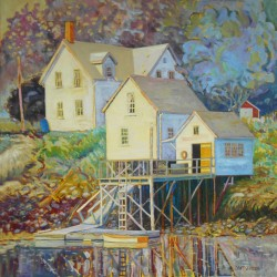 Consider Maine art as meaningful Christmas gift