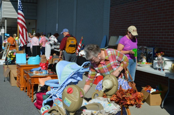 Bargain hunters look for great deals and support a great cause Saturday, August 23 at TAMC's Super Saturday Secondhand Sale.  The annual fundraiser, now in its second year, has raised funds for a Hospice Patient Room on TAMC's Medical/Surgical Unit.