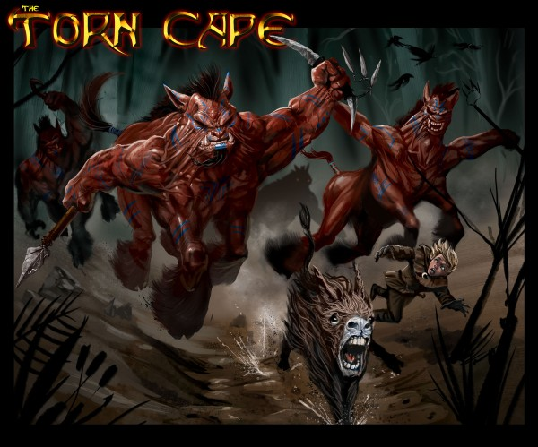The Torn Cape, a new original comic book by Cape Elizabeth artist Ray Dillon, is described by the author as &quota dark fantasy/swords and sorcery book focused on time travel and manipulation.&quot