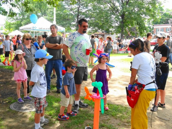 The Brunswick Outdoors Arts Festival