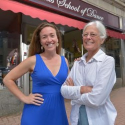 Jane Bragg (right) announced recently that after 31 years as owner and director of Thomas School of Dance in Bangor, she has transferred ownership to Cassie Pillsbury (left), who has operated a school of dance in Unity for more than 10 years.