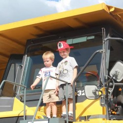 Volunteers launch a Tonka Truck restoration project