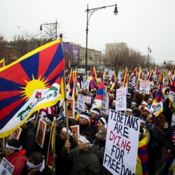 Midcoast group shows support for Tibet