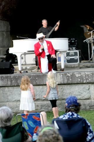 Elton John tribute band at Fort Knox, Saturday.