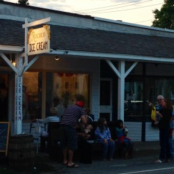 A summertime ice cream tour of Bar Harbor
