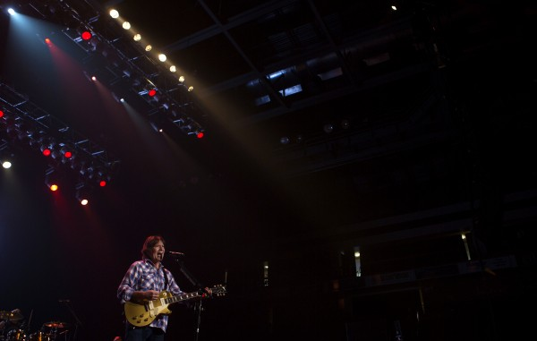 John Fogerty performs during his show Saturday at Cross Insurance Center in Bangor.