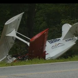Amateur-built aircraft that crash-landed on Standish road Sunday had crashed once before, CBS 13 finds
