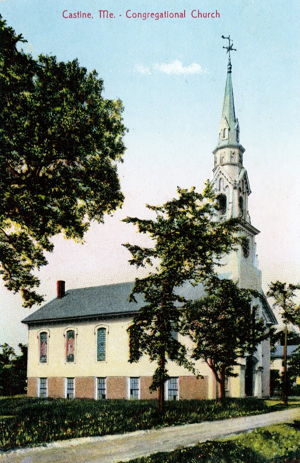 An early 20th Century postcard of the Main Street Church