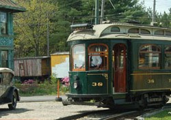 Dogs Can Ride the Rails at Seashore Trolley Museum