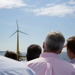 UMaine powers up 'VolturnUS,' delivers first-ever electricity to Americas from offshore wind
