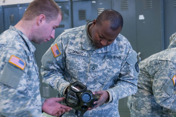 Members of 262nd Engineer Company were scheduled to head to Afghanistan in December help close down bases and forward observation posts with departure of US troops from the war-torn country. They learned Wednesday the deployment has been canceled.