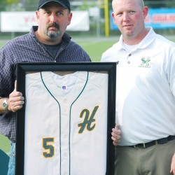 Winkin, Allen inducted into Husson Sports Hall of Fame