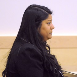 Orrington woman sobs after pleading not guilty to charges in connection with crash that killed friend