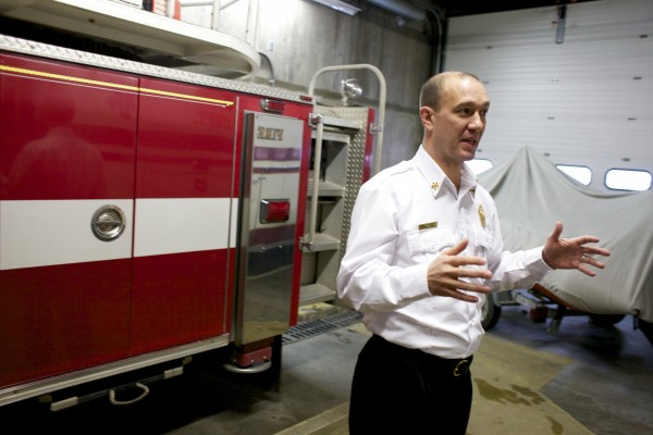 Resigning Bangor fire chief eager to grapple with new job as