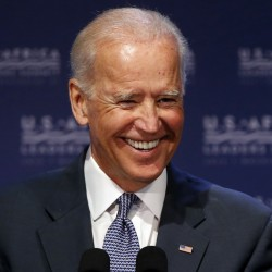 Biden talks about growing the middle class, joins Michaud, Pingree in Kittery