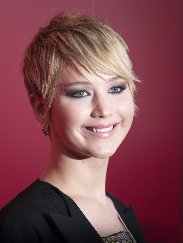 Actress Jennifer Lawrence attends the premiere of the film &quotThe Hunger Games: Catching Fire&quot in New York on Nov. 20, 2013.