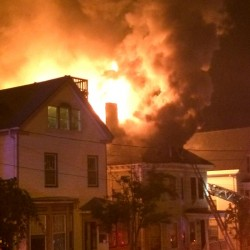 Children playing with sparklers blamed for apartment house fire in Portland