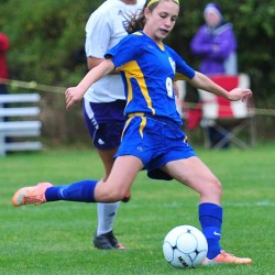 Saulter's goal lifts Hermon girls soccer team by Presque Isle in EM 'B' final