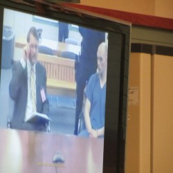 Maine prison murder suspect makes initial court appearance by video