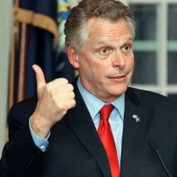 Democrat Terry McAuliffe wins Virginia governor's race