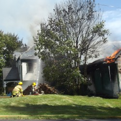 Fire in abandoned house was arson, marshal says