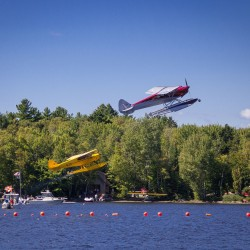 Seaplane fly-in draws pilots and spectators to Greenville area