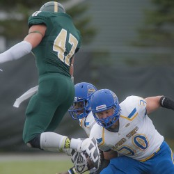Husson defense shines as Eagles blank Alfred State 13-0