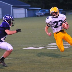 Mt. Blue holds off stubborn MDI football team