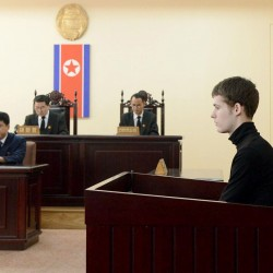 American held in North Korea sentenced to hard labor, in poor health